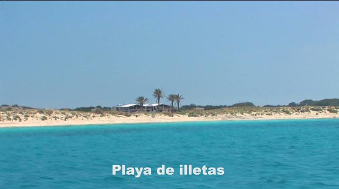 Illetas playa
