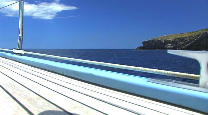 Navegando por Santa Eulalia