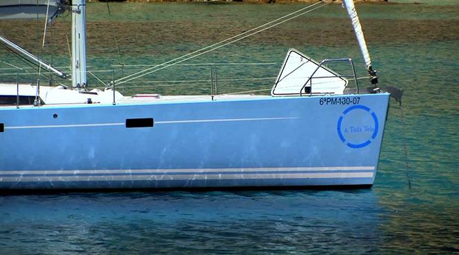 Barco de A TODA VELA