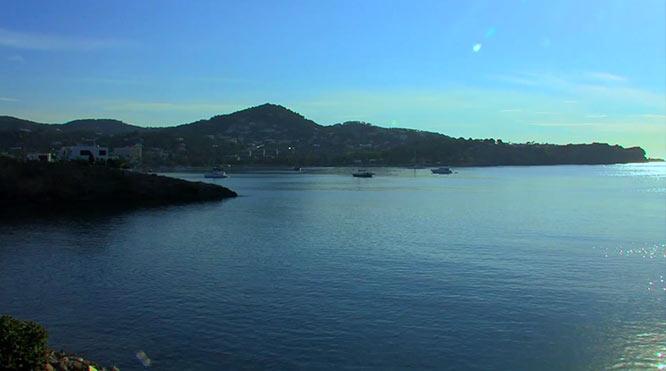 Bahía de Talamanca en Ibiza