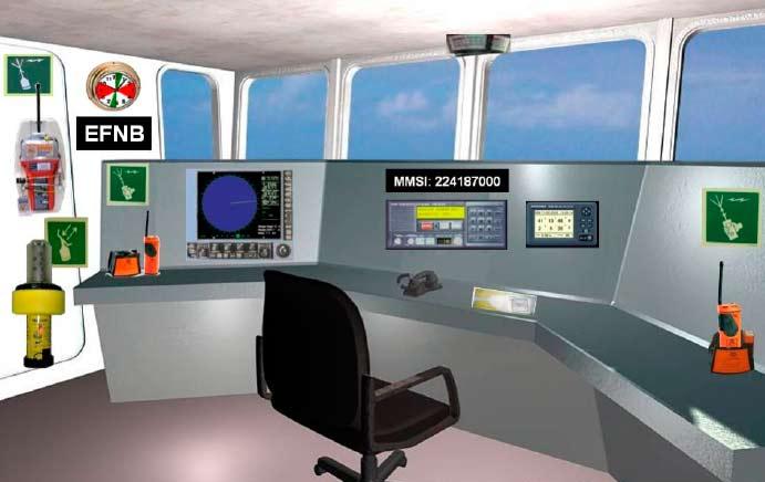 Prácticas Radio Operador de Corto Alcance en España para PER y PNB