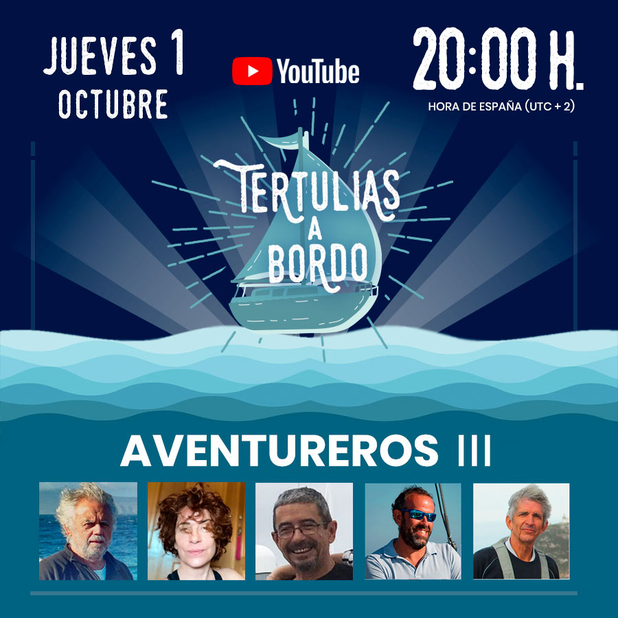 ▸ AVENTUREROS III #15 Tertulias a Bordo