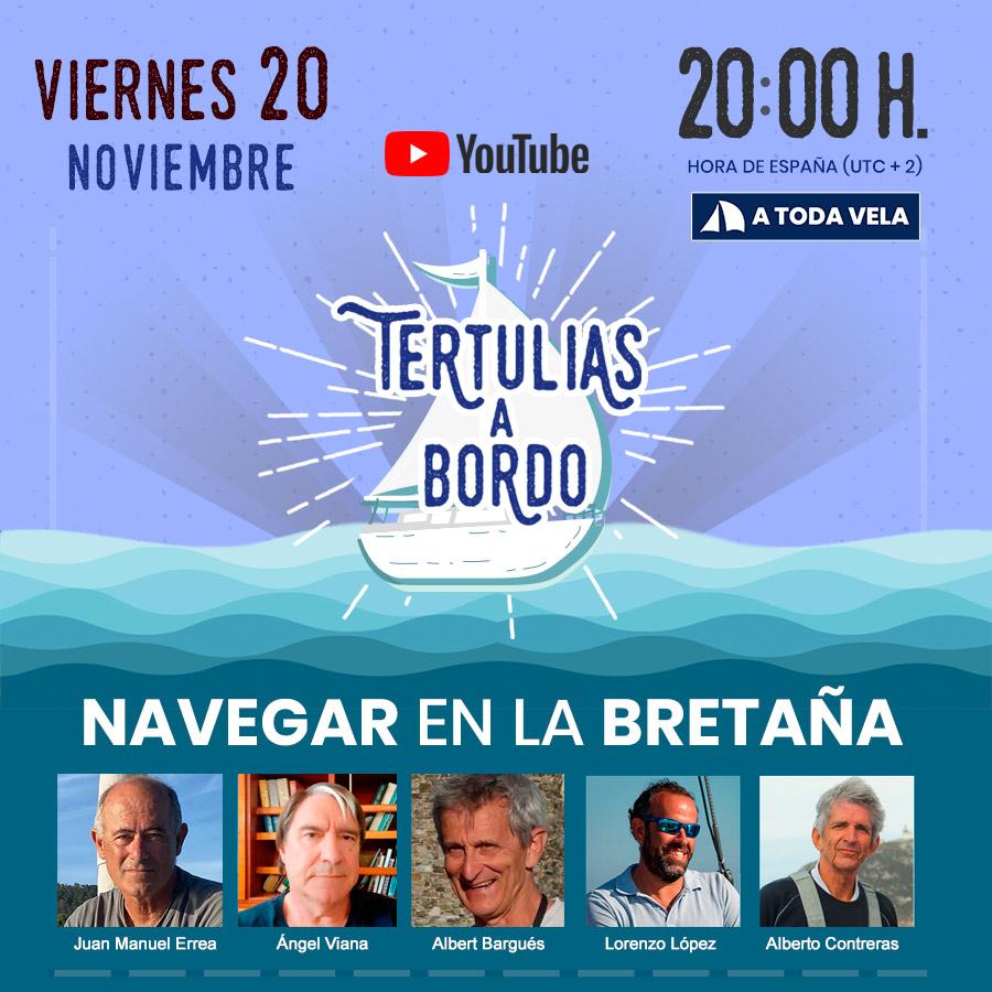NAVEGAR EN LA BRETAÑA #18 Tertulias a Bordo