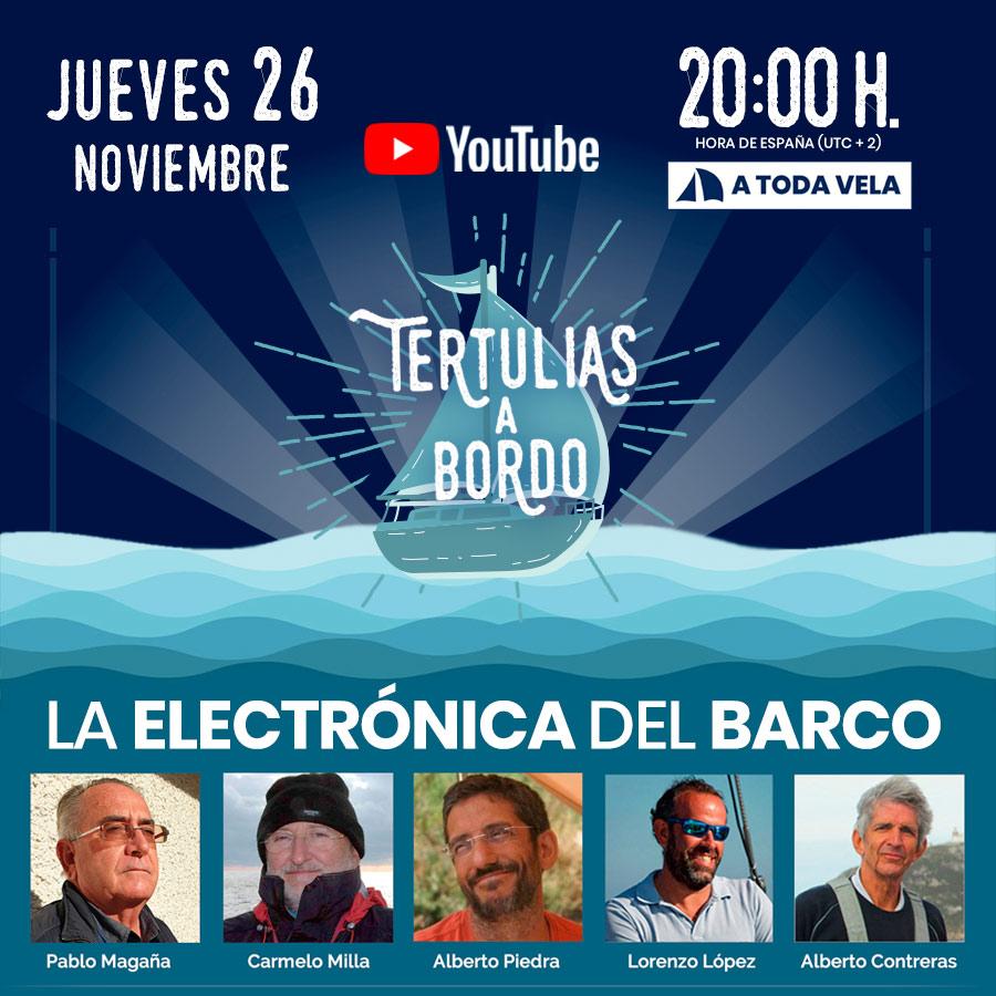 LA ELECTRÓNICA DEL BARCO
