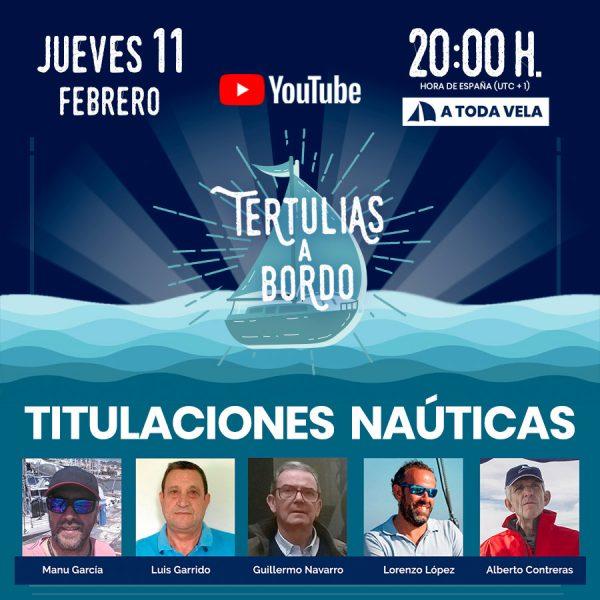 Titulaciones náuticas de recreo en España