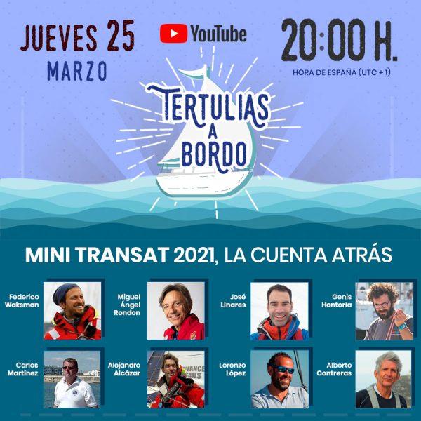 MINI TRANSAT 2021, LA CUENTA ATRÁS