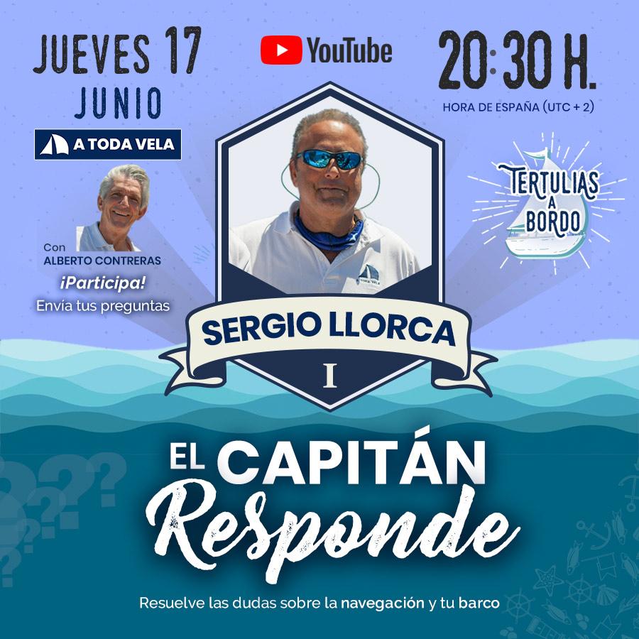 EL CAPITÁN RESPONDE CON SERGIO LLORCA