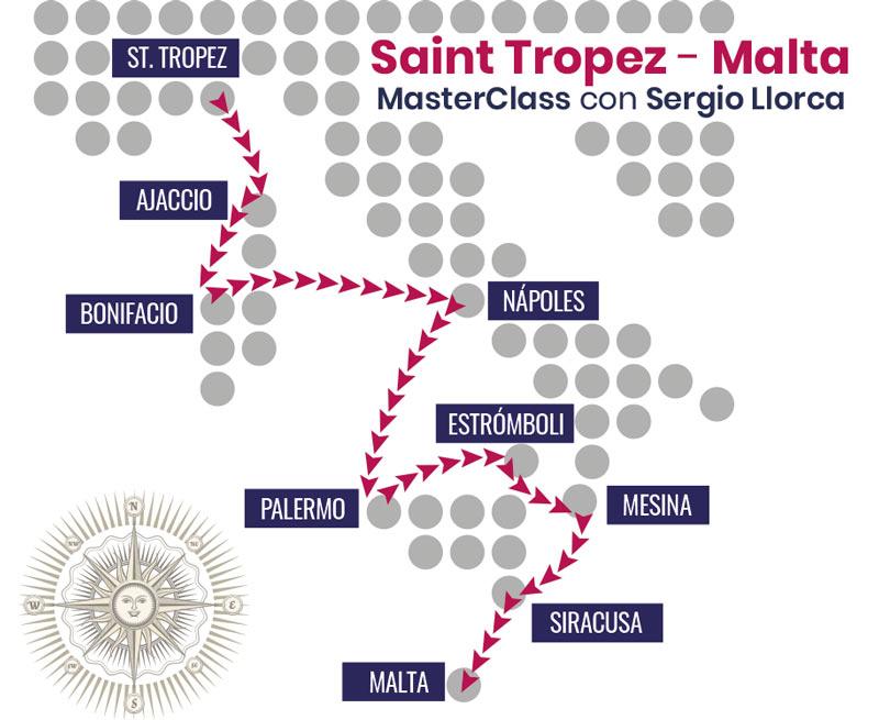 ▸ EN DIRECTO TRAVESÍA ST. TROPEZ- MALTA.